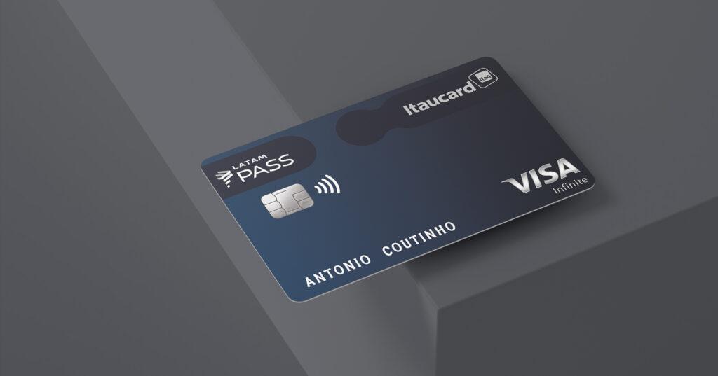 cartao credito itaucard latam pass visa infinite capa