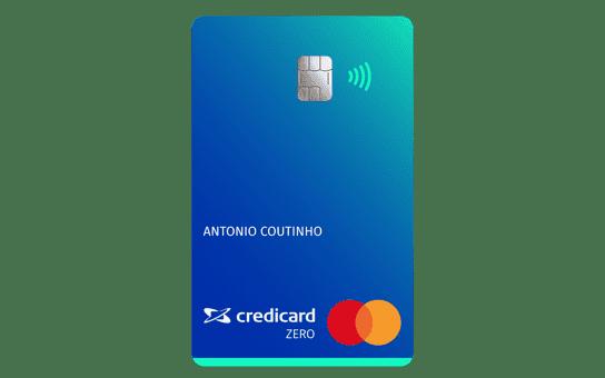 cartao de credito credicard zero