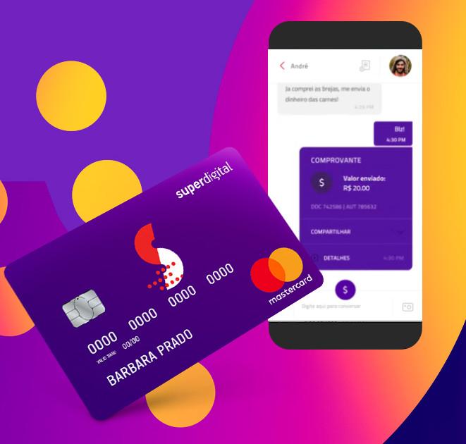 adquirir o cartão de crédito SuperDigital