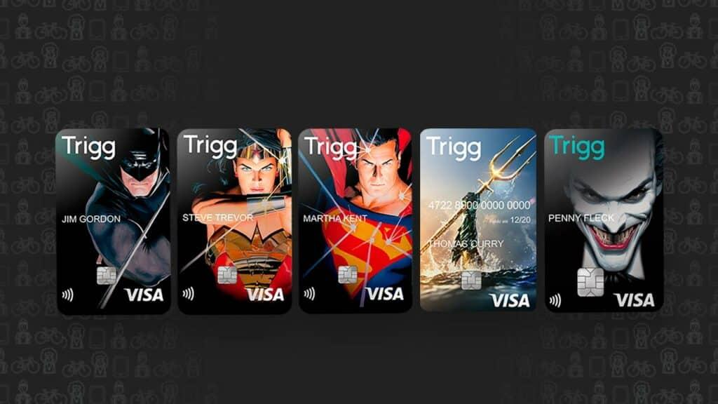 Passo a passo para solicitar o cartão Trigg