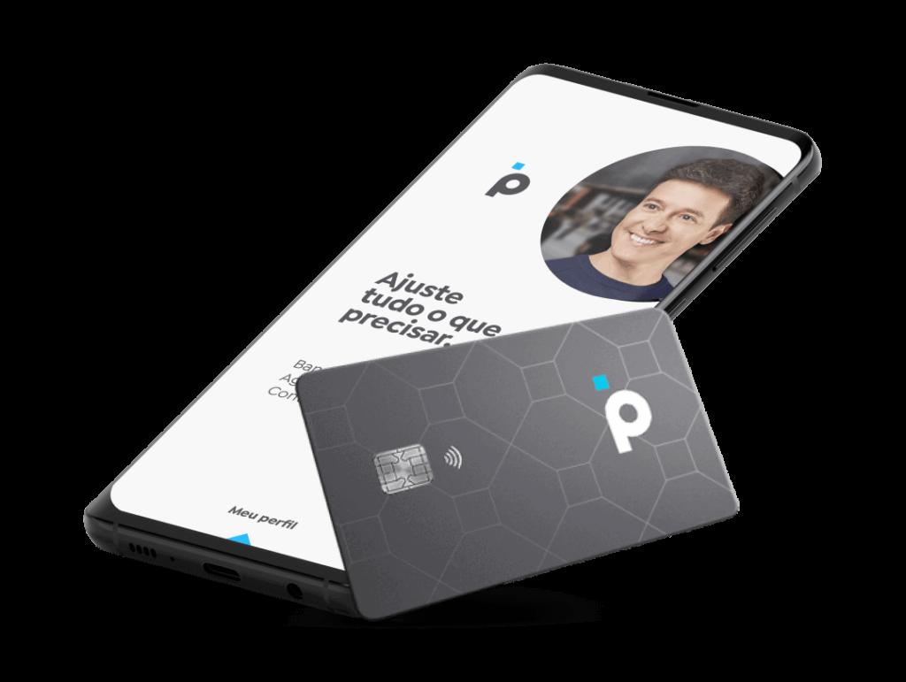 conta digital banco pan smartphone